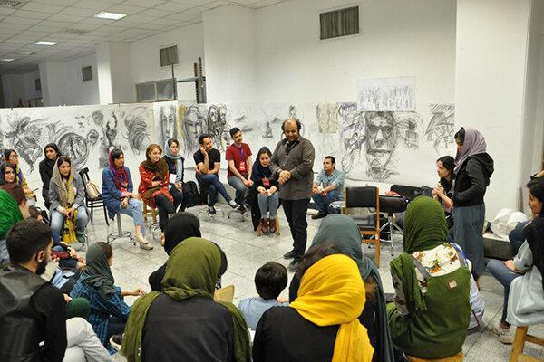 جشنواره سراسری دانشجویی نقاشی ژکال به ایستگاه پایانی رسید
