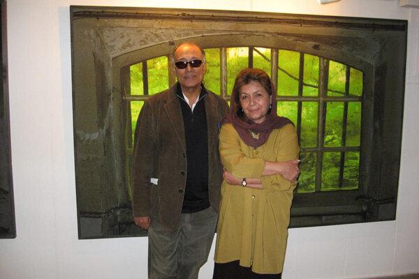 نقاشی های عباس کیارستمی در گالری گلستان